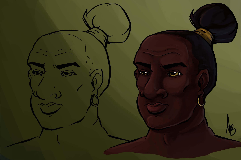 Character Design - AZUBUIKE