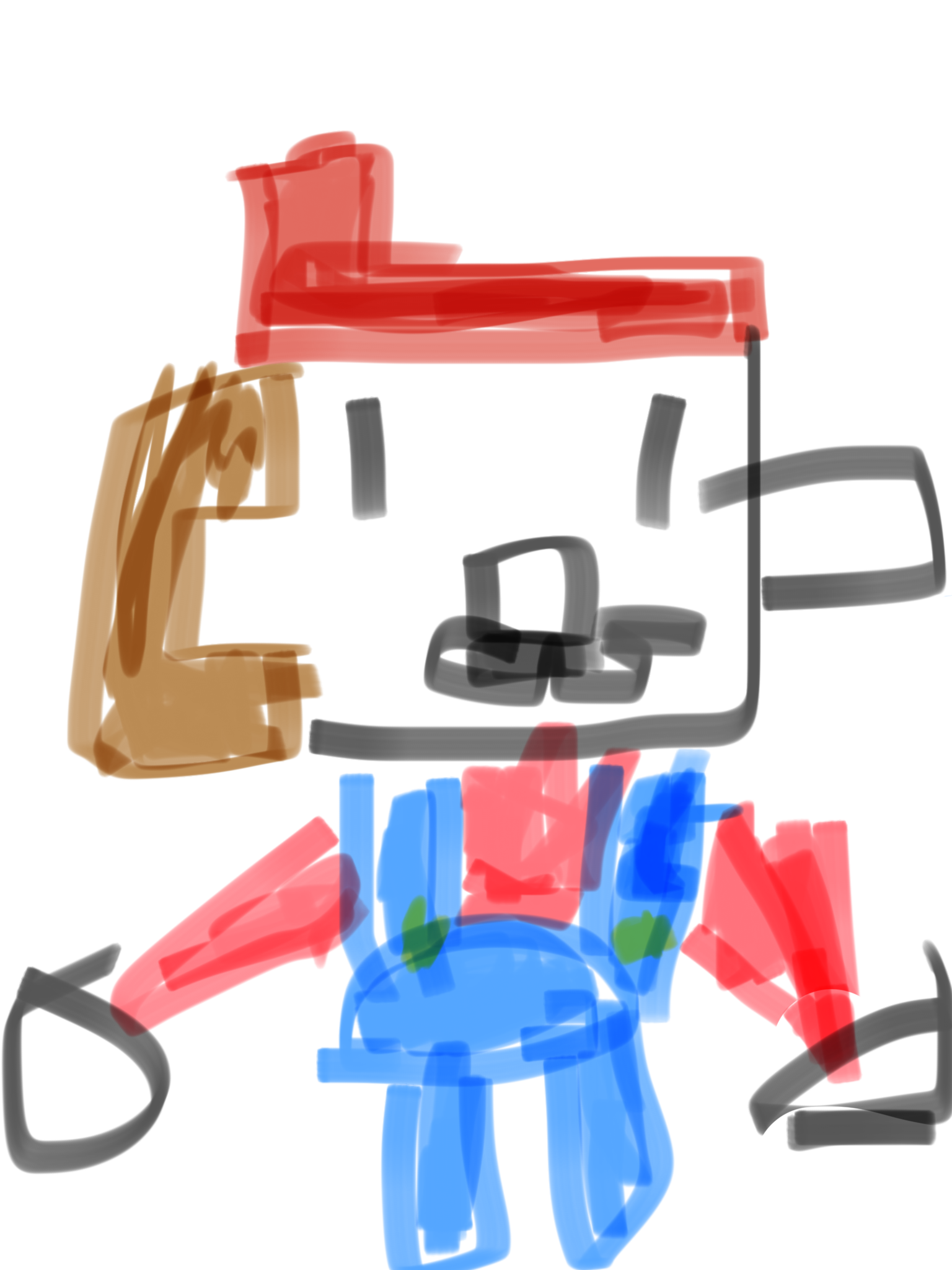 It's Mario with no feet