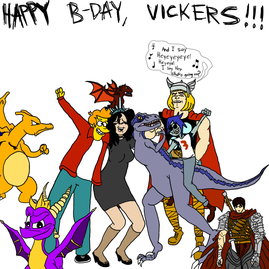 An Early Birthday Drawing For Victoria