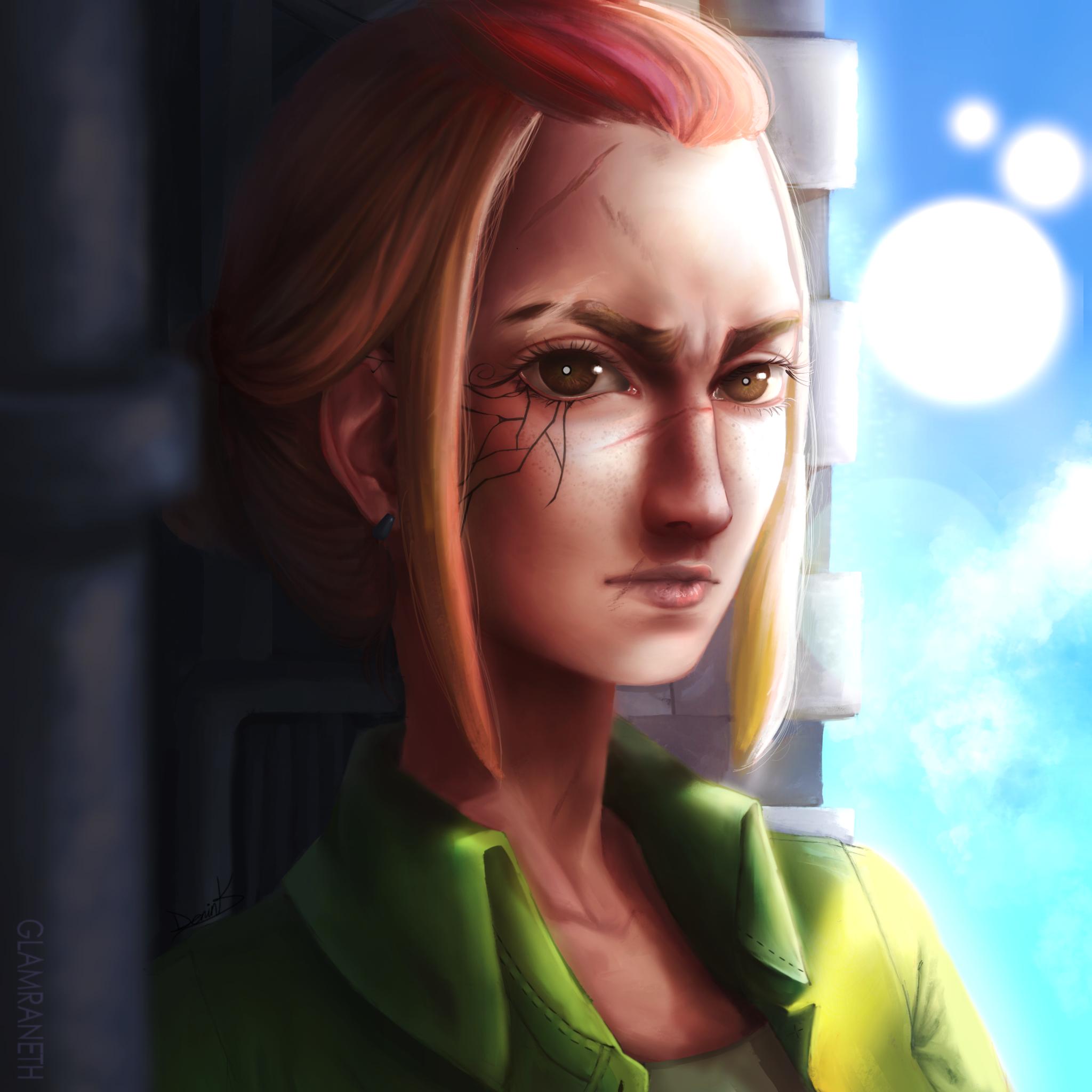 (OC) Fallon Deep Portrait