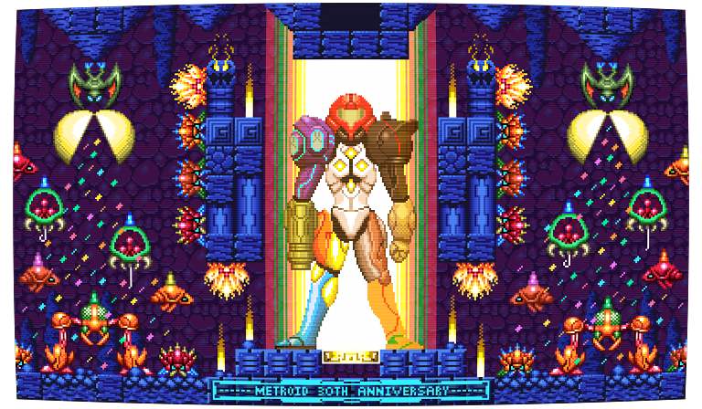metroid 30th anniversary by scepterdpinoy on newgrounds