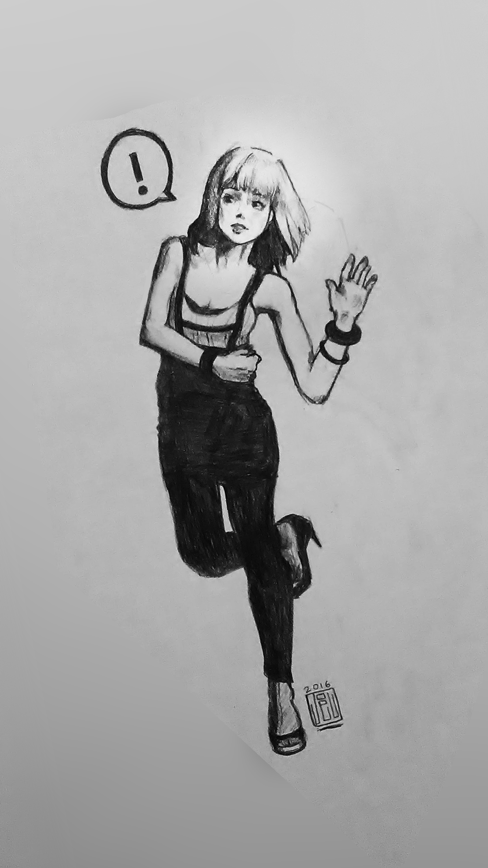 Running gal
