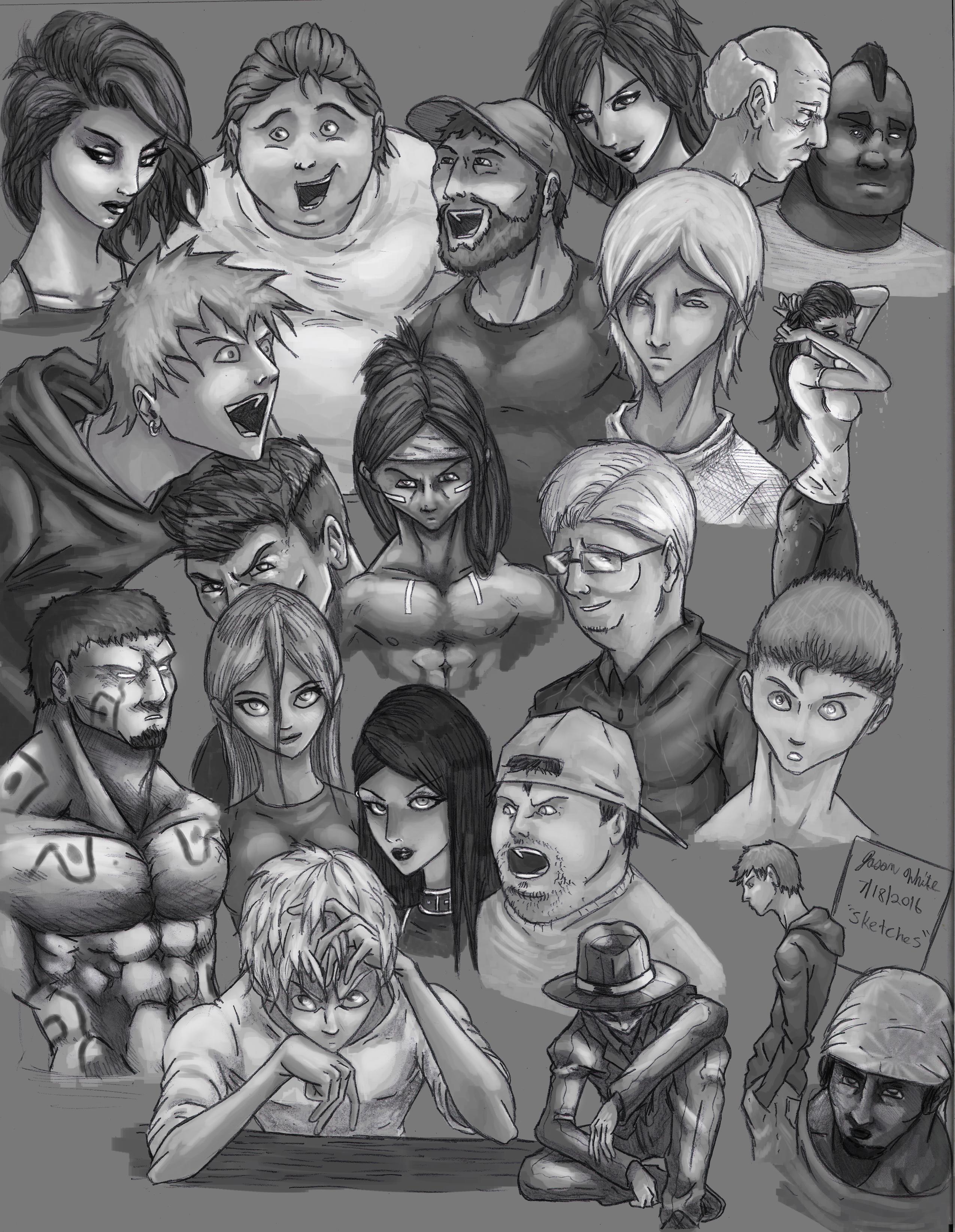People Sketch 1