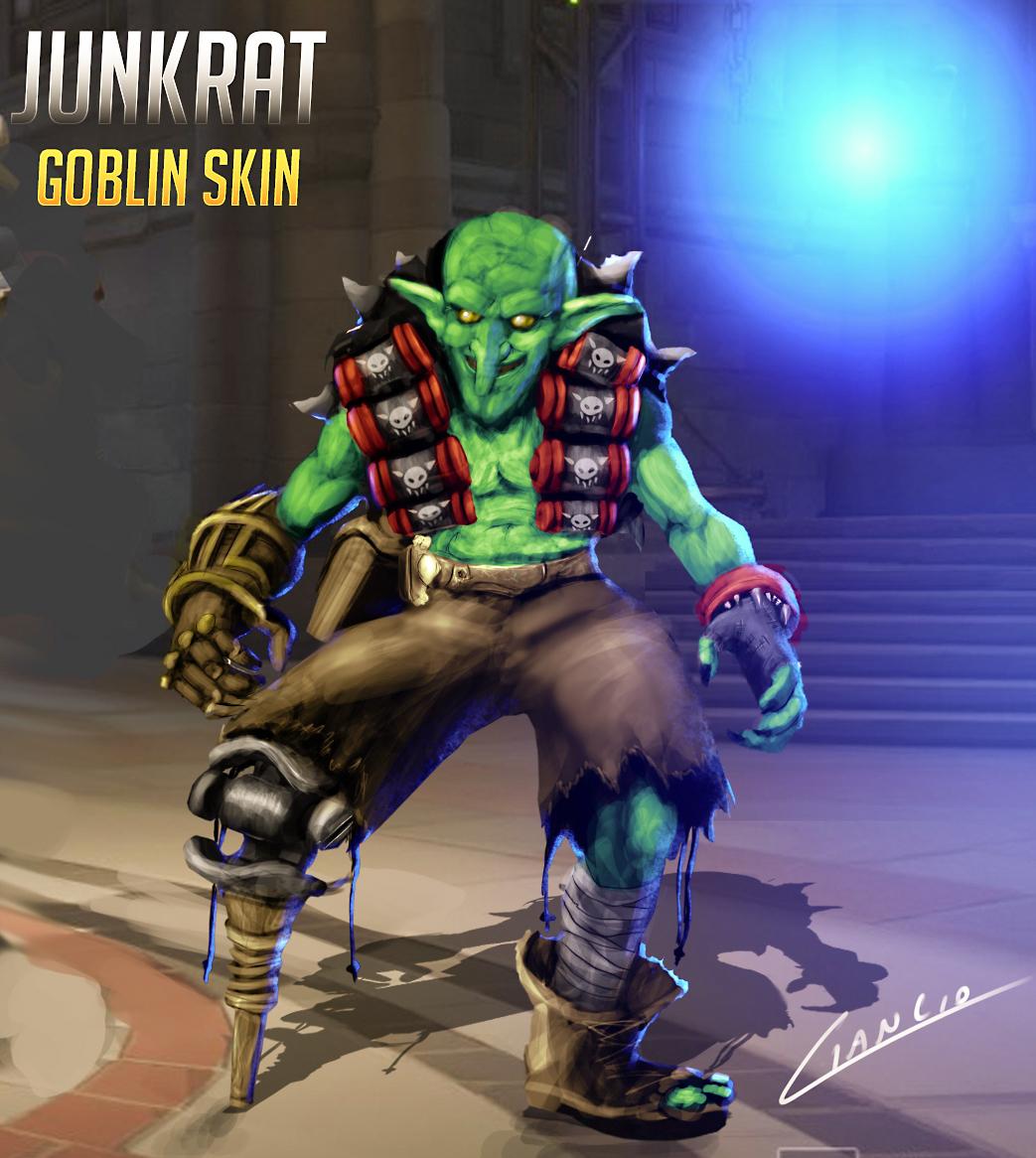 Junkrat - Goblin Skin