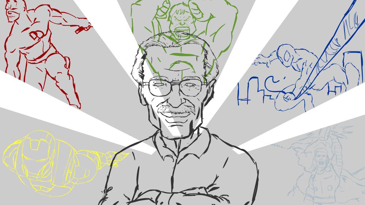 Stan Lee - Tale Teller (sketch)