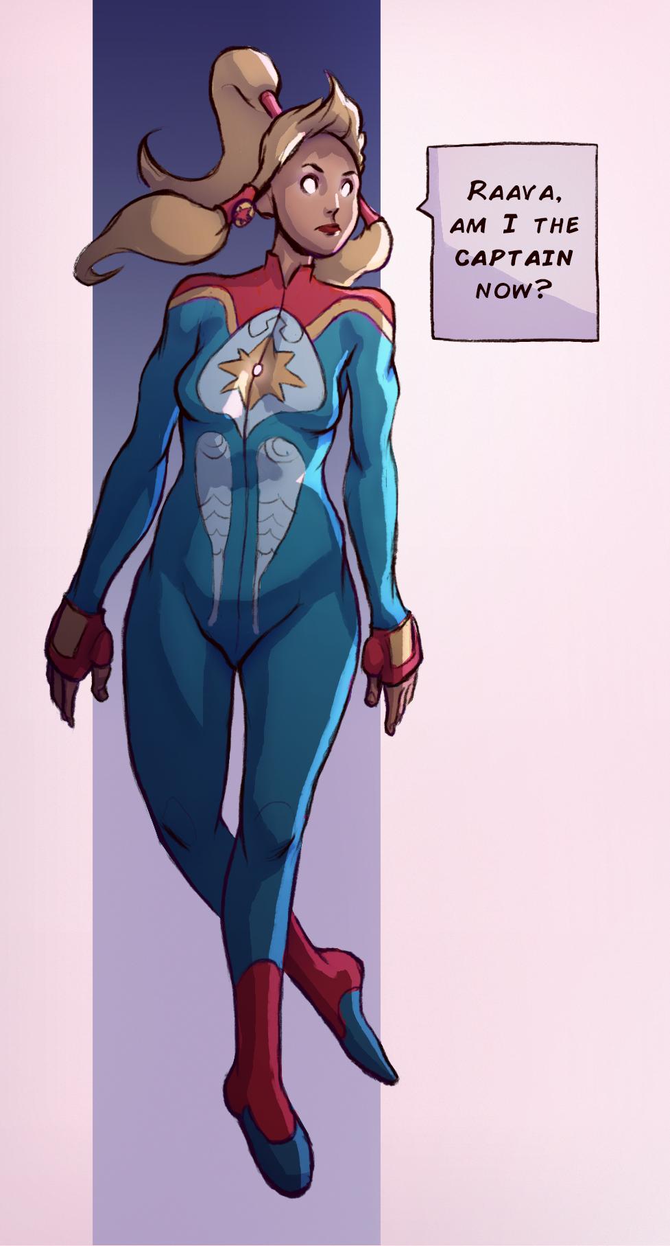 The Marvelous Captain Korra lol
