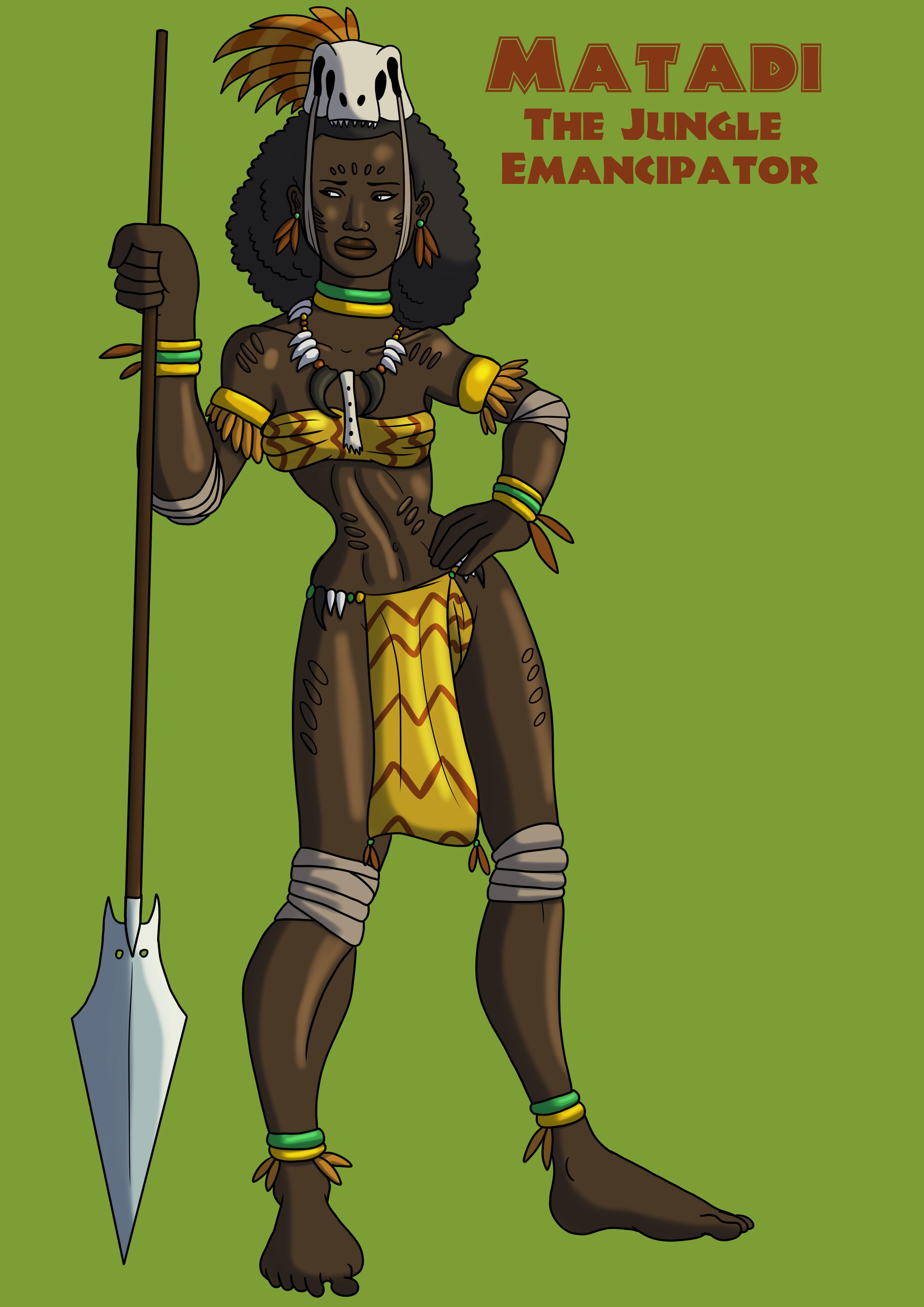 Matadi the Jungle Emancipator