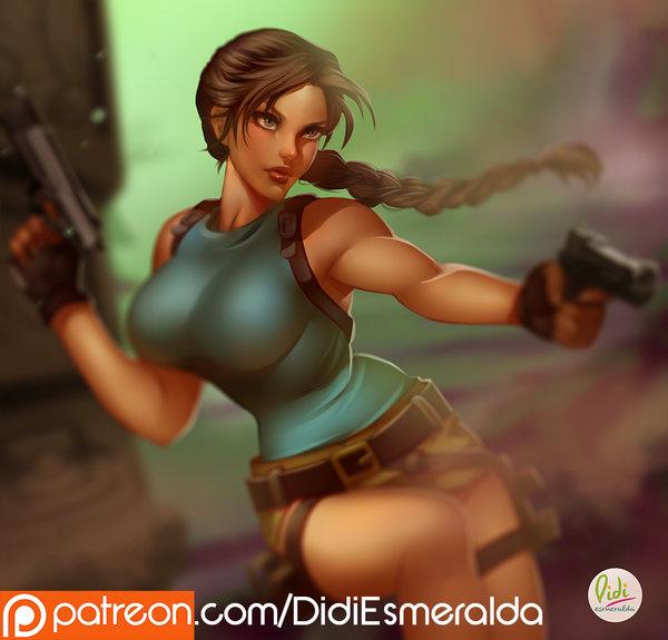 Lara Croft - Tomb Raider - Fanart Commission