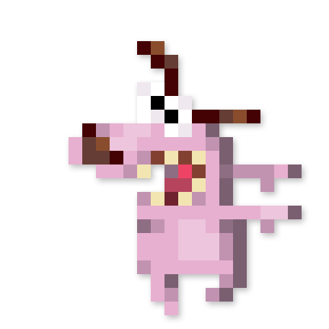 Day #126 - Courage the Cowardly Dog