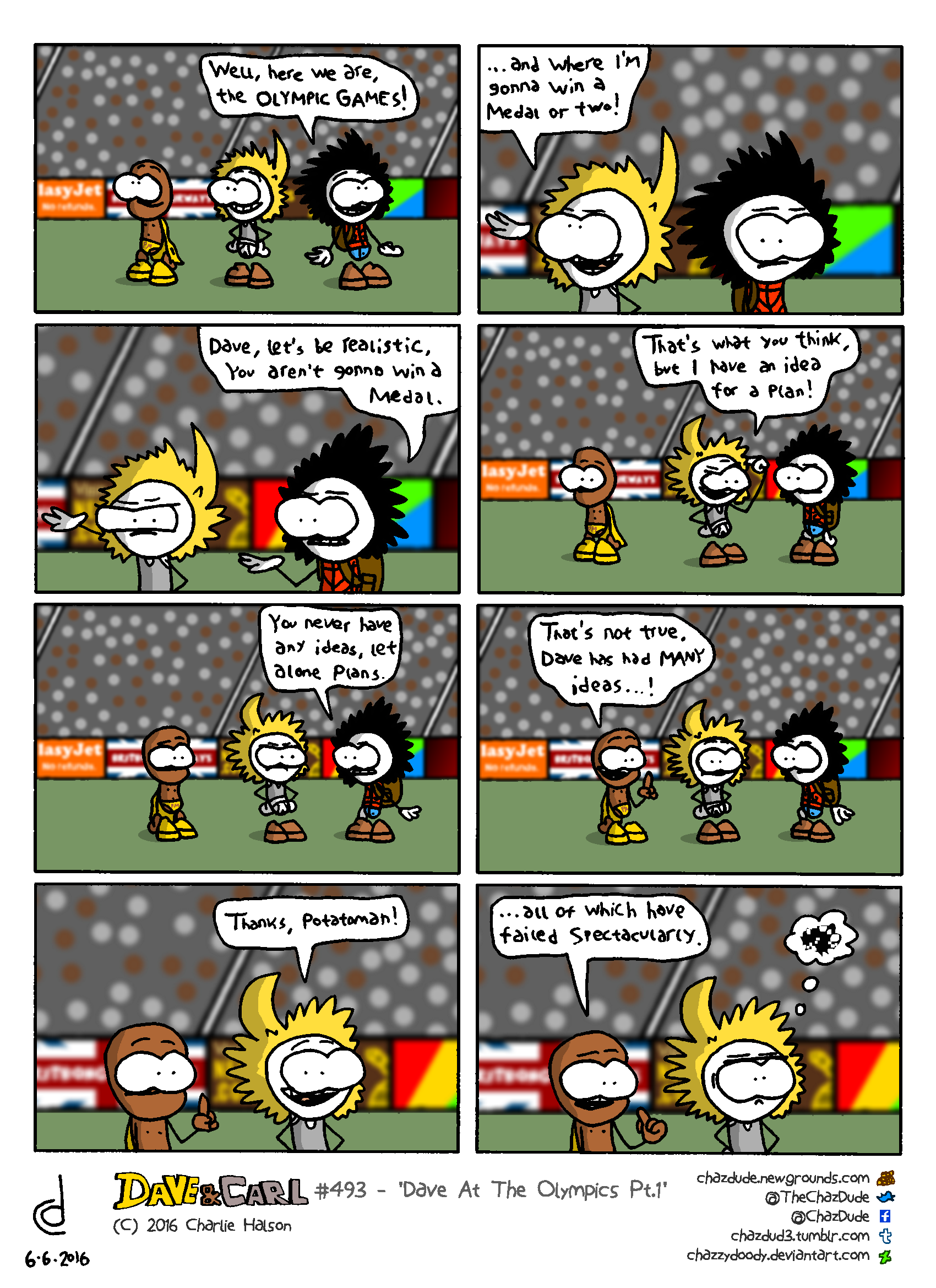 Dave At The Olympics Pt.1