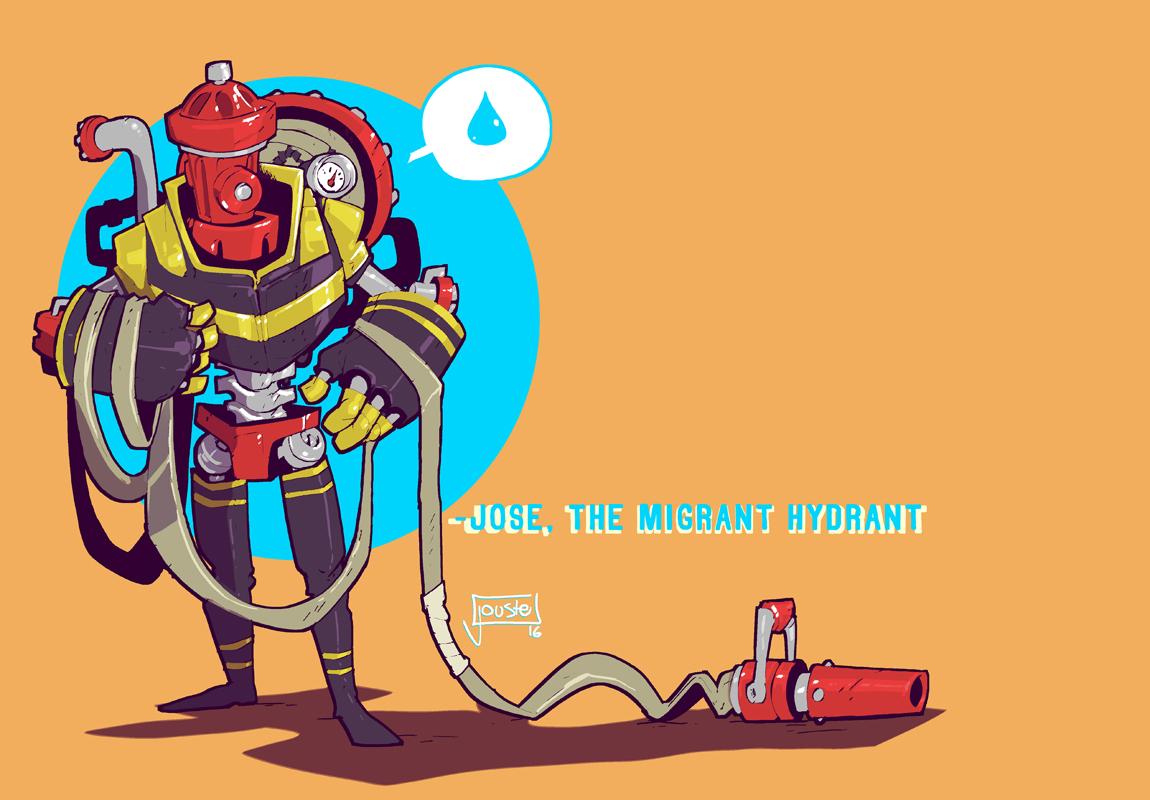 Jose the Migrant Hydrant