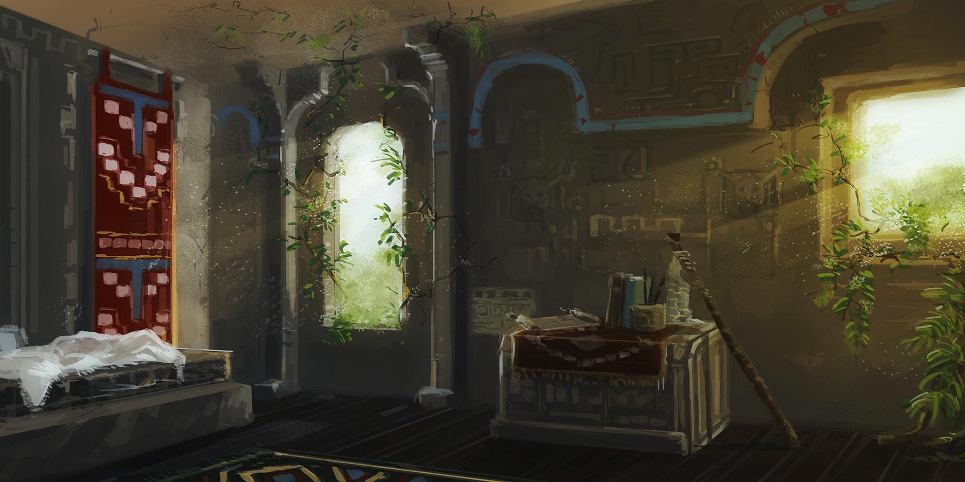 A room - concept art