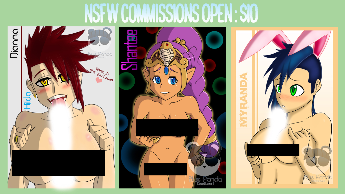 NSFW Commissions Open