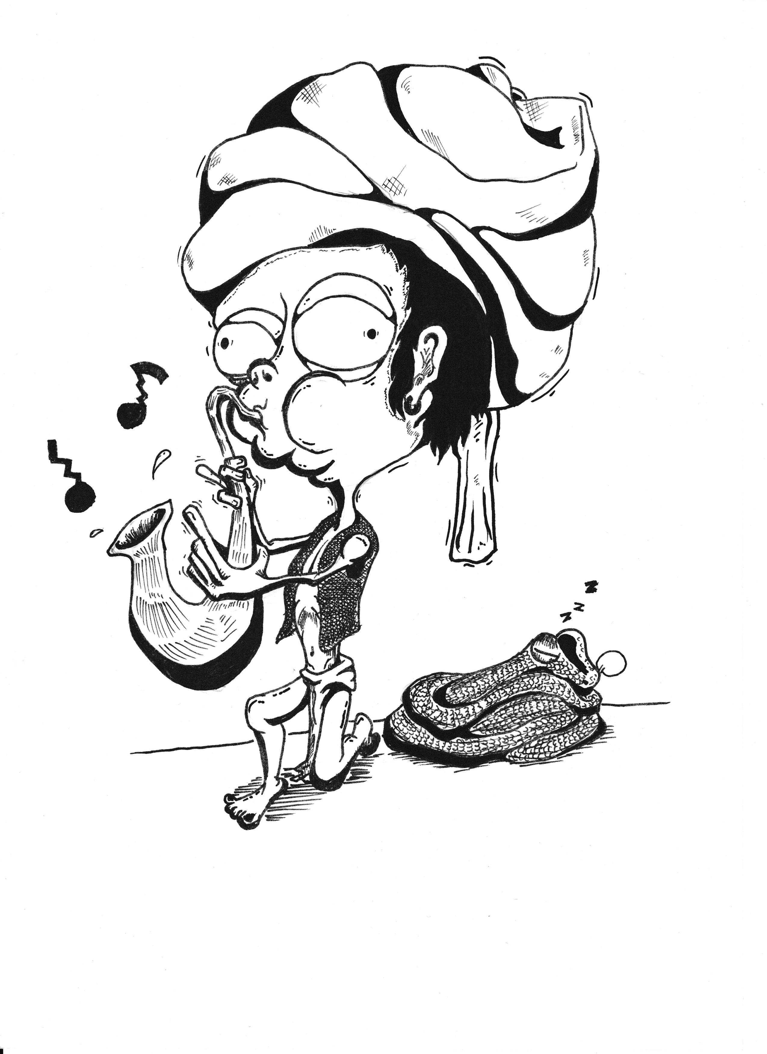 A Doodle A Day - Week 1 - Doodle #2