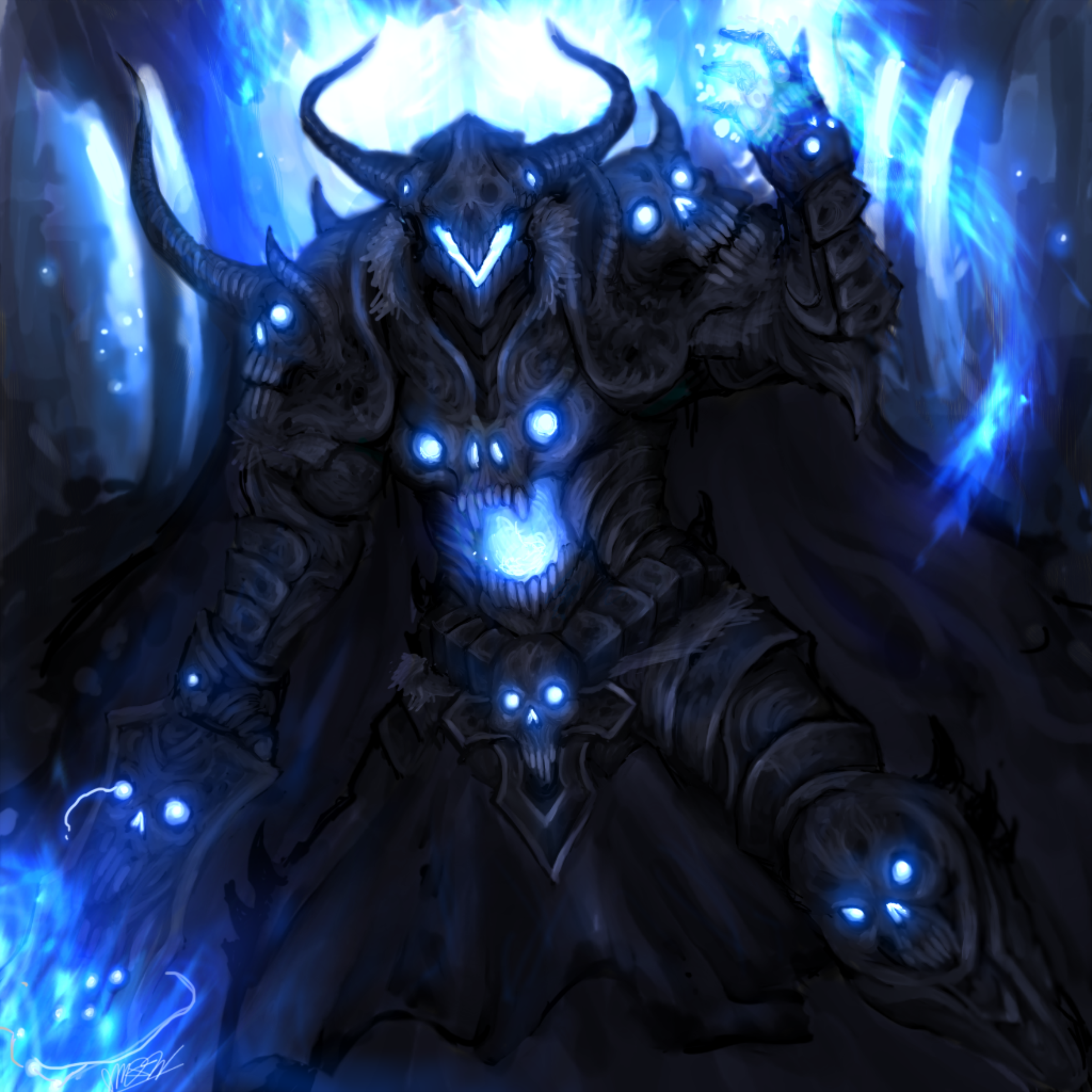 Dage The Evil (Old Art)