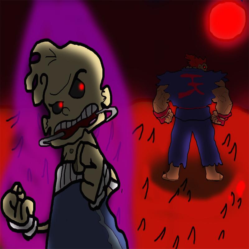 Evil Jimmy and Akuma
