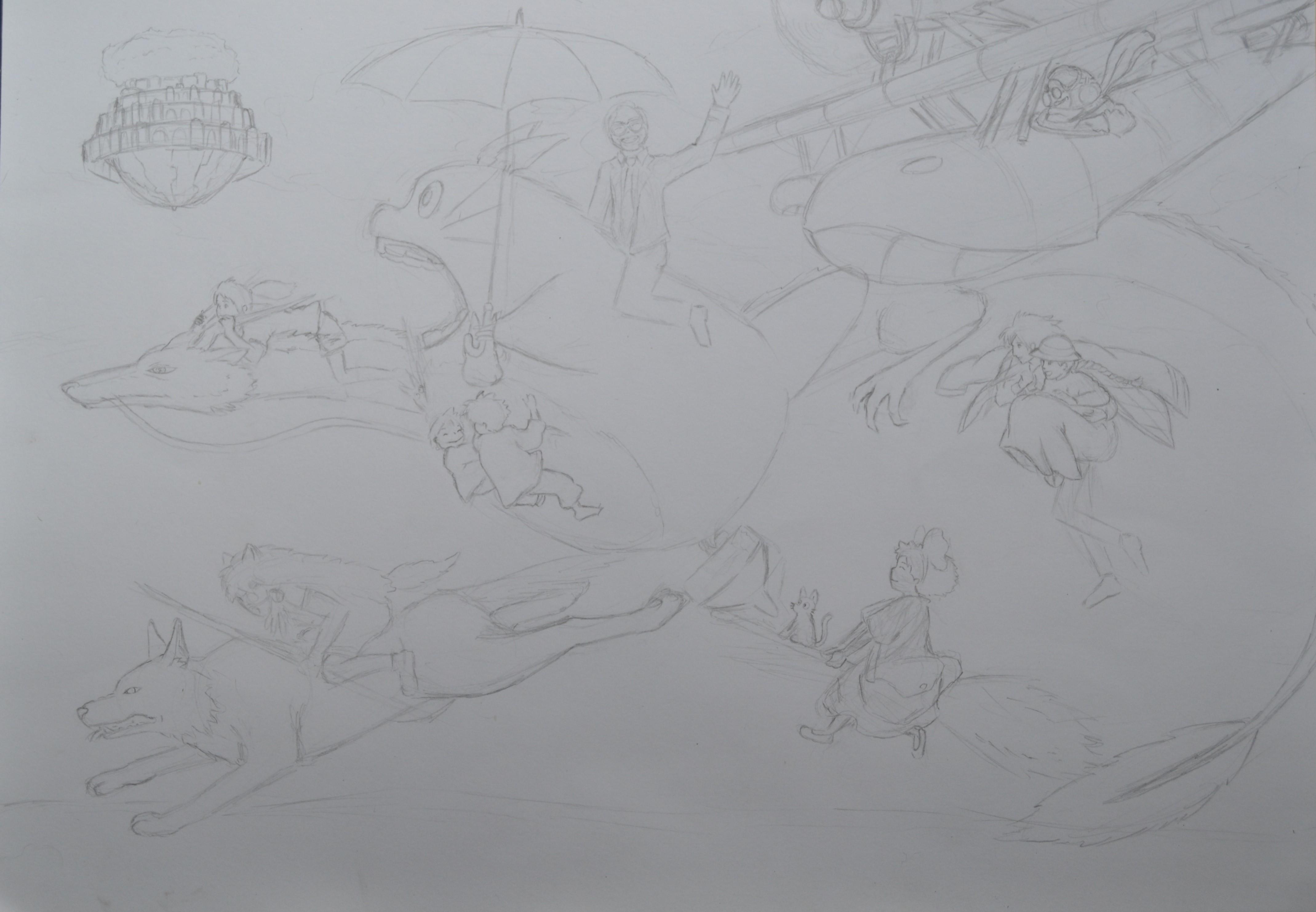 Hayao Miyazaki Taleteller (sketch)