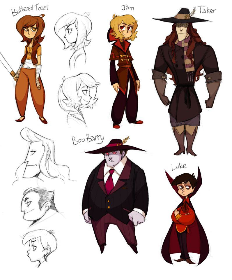 CBT Character Designs