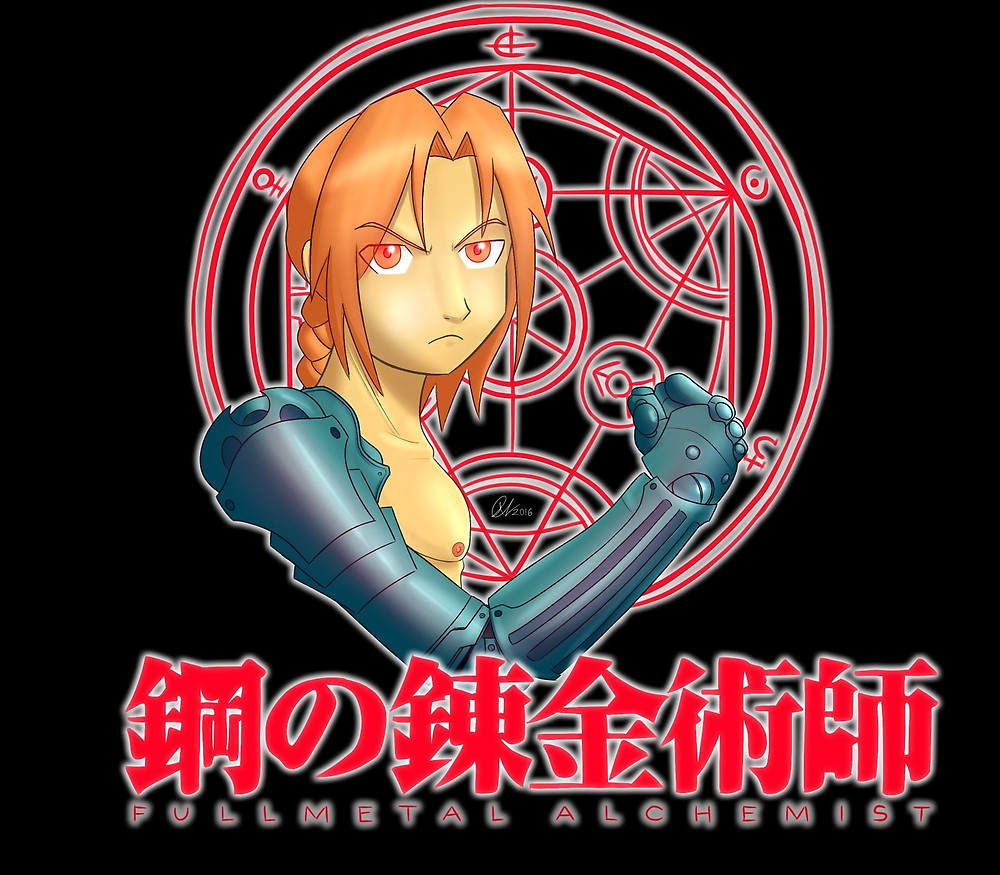 Edward Elric: Professional Robot Arm Owner