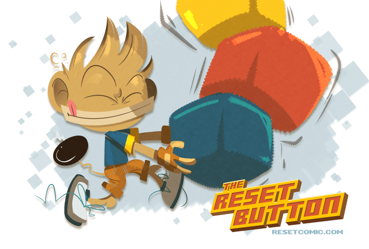 Reset Boomtail Jr (Picture Book)