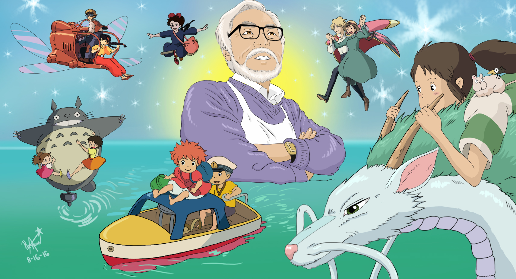Miyazaki, My Idol