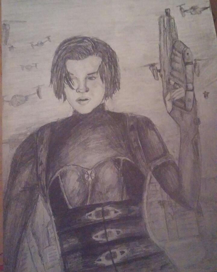 Alice From Resident Evil: Retribution