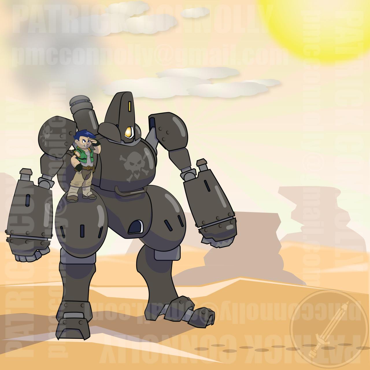 Desert Pirate Mech