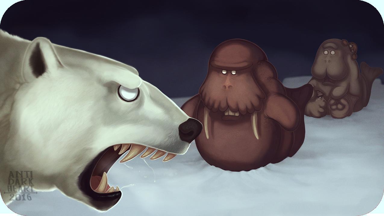 Polar Fight - Commission
