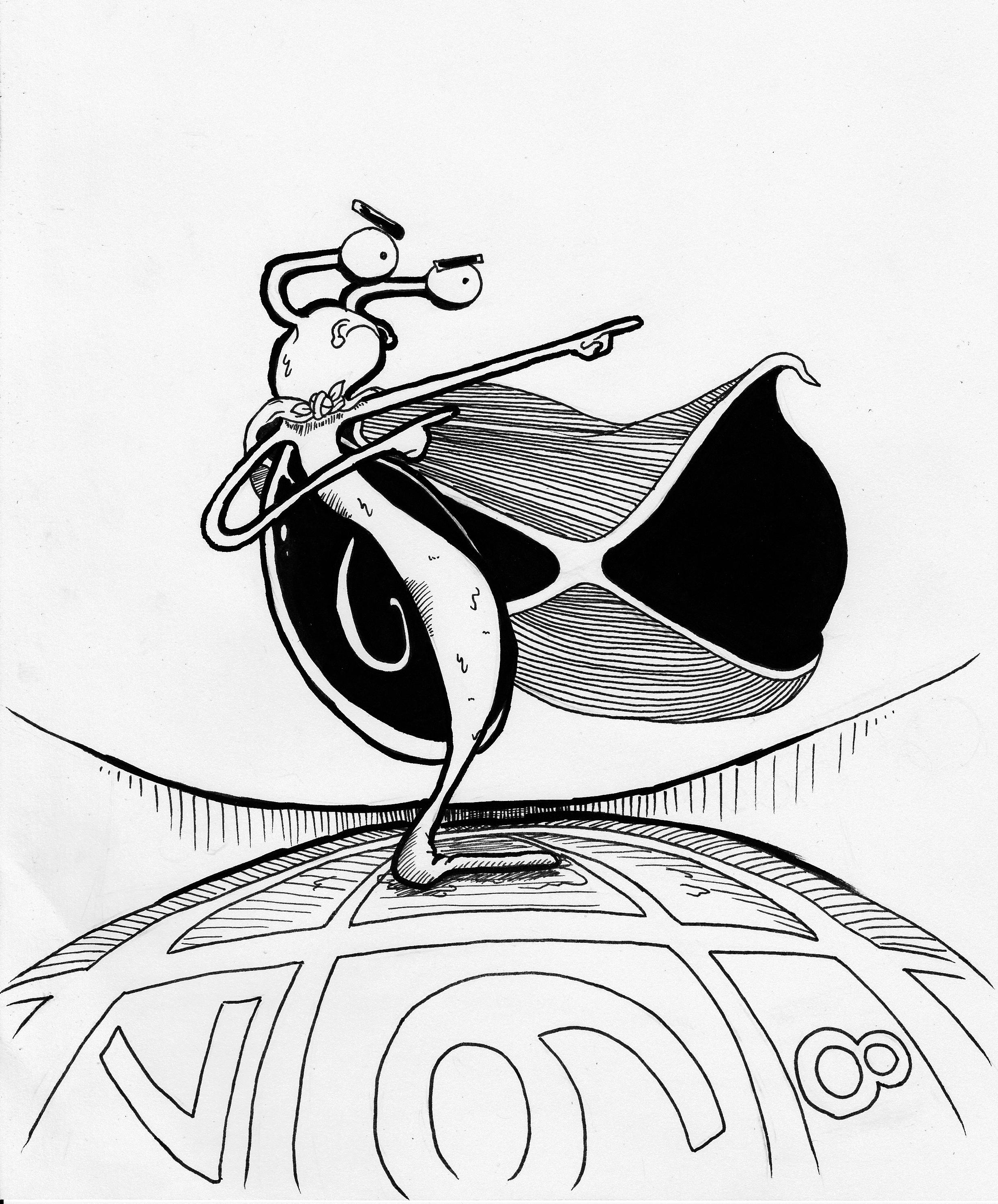 A Doodle A Day - Week 3 - Doodle #5