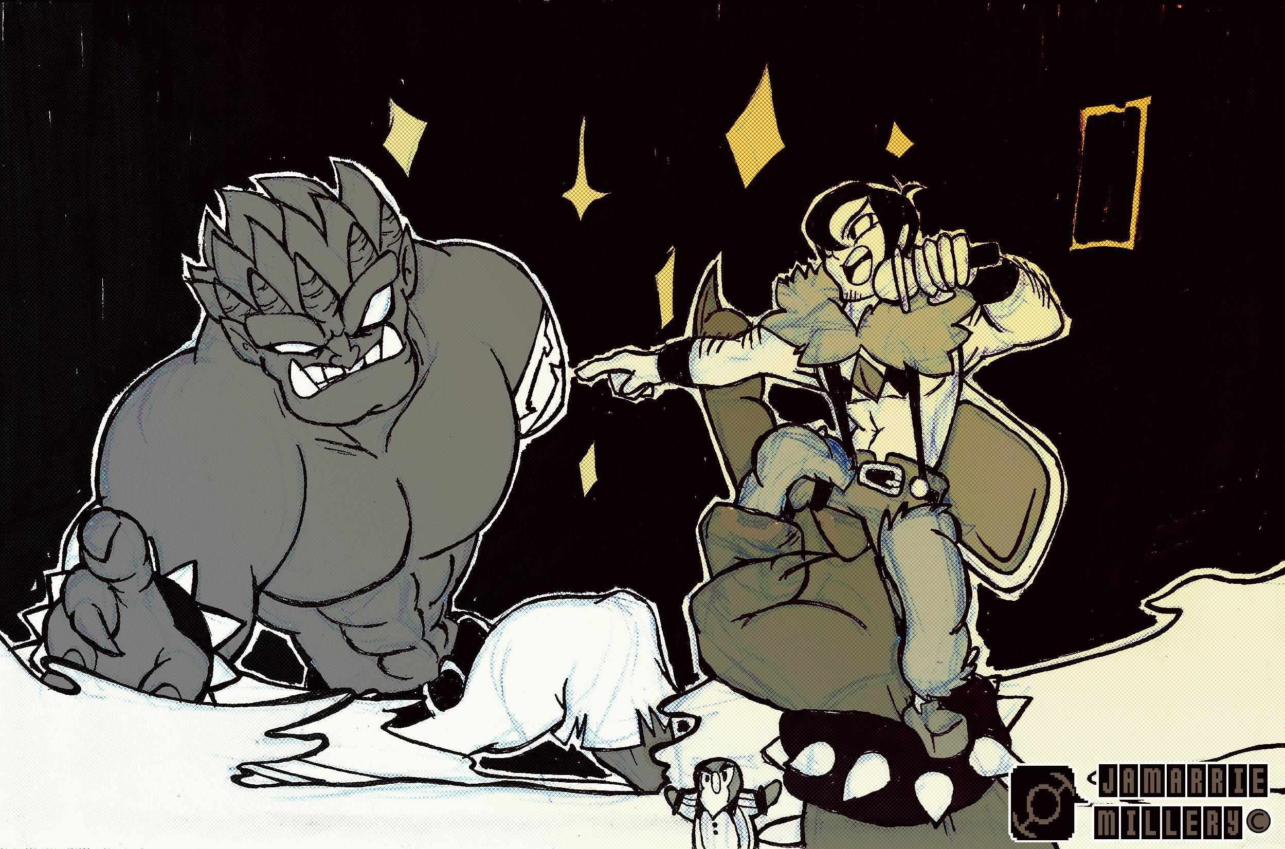 Skullgirls Grendels Rematch