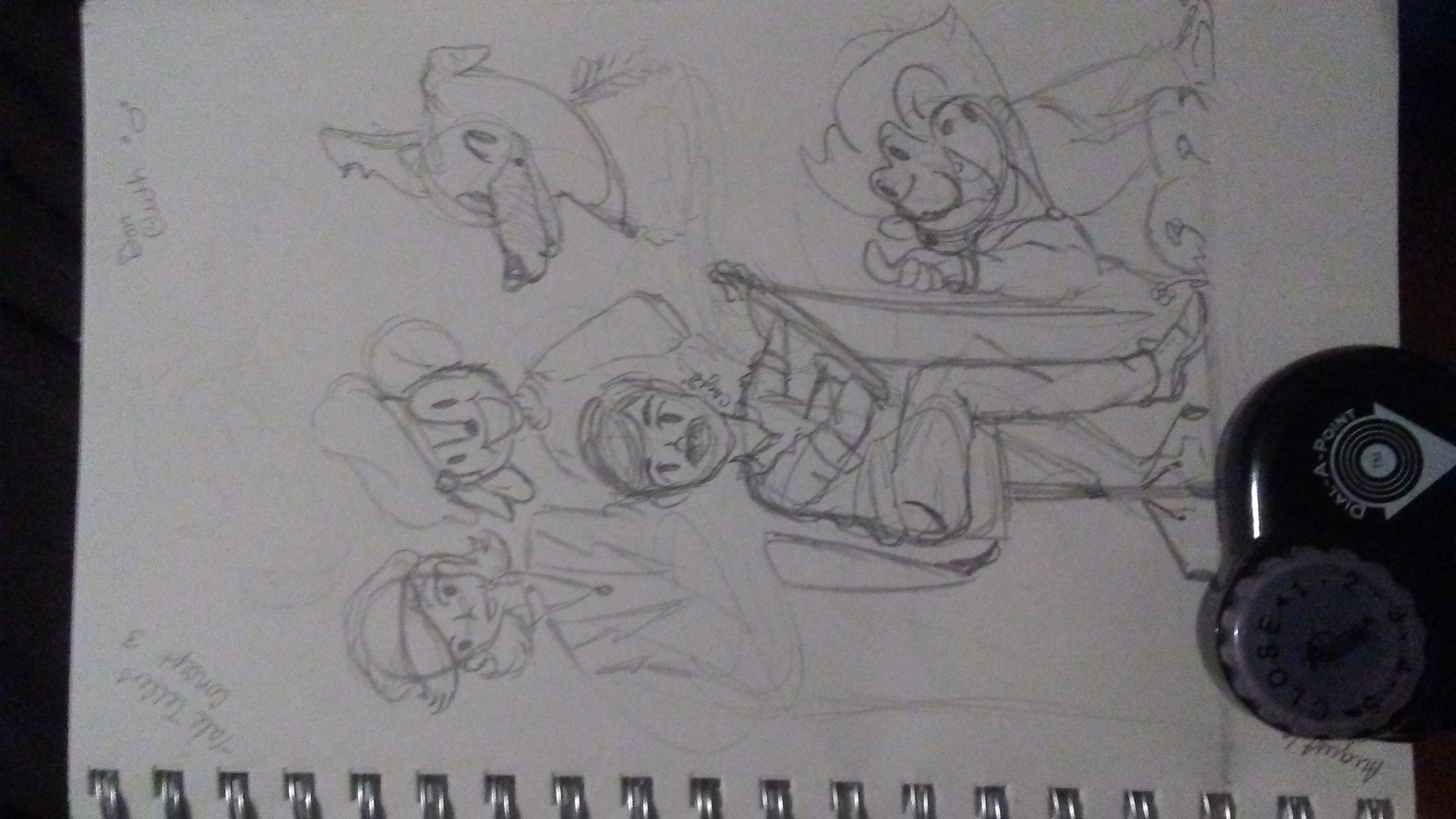 Tale Tellers Concept Sketch