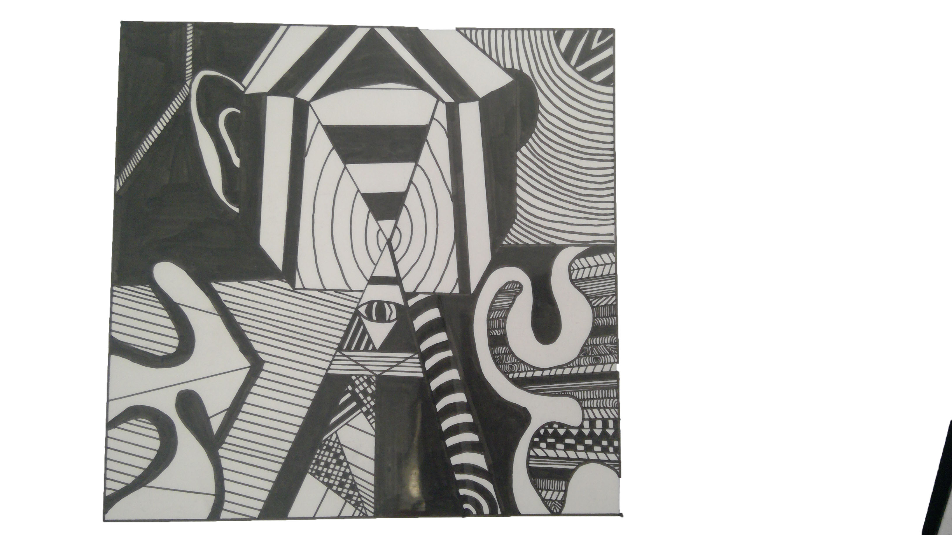 more hand drawn work