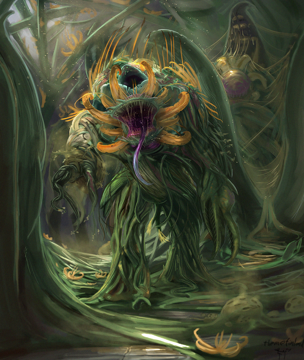 Plant abominations