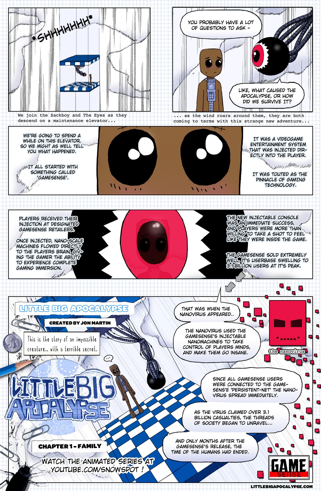 Little Big Apocalypse - Page 1