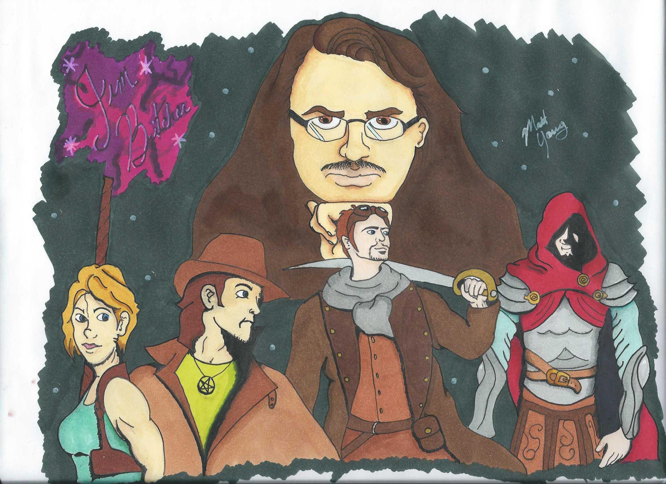 Jim Butcher - Sharing the Fantasy
