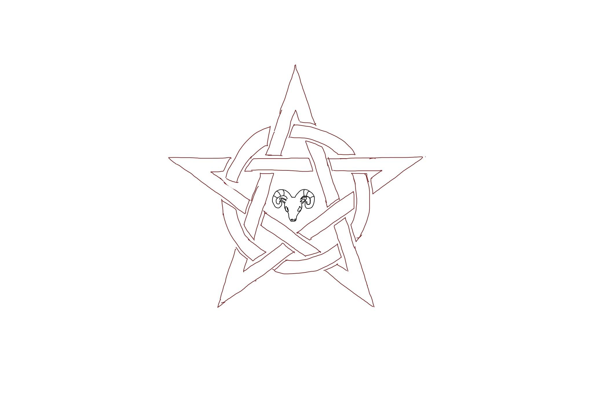 A pentagram I drew a long time ago