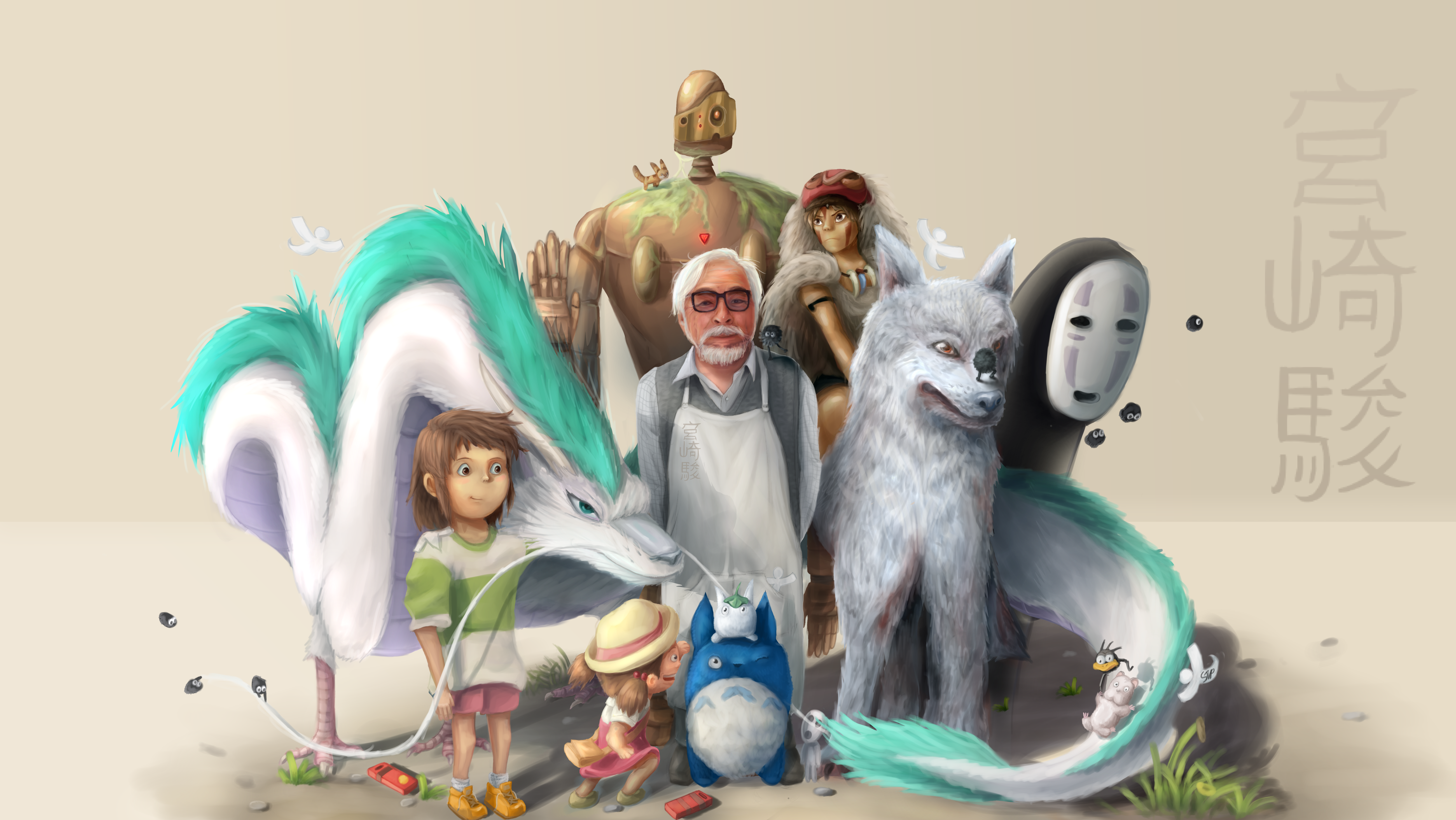 Hayao Miyazaki and the Tales He Told