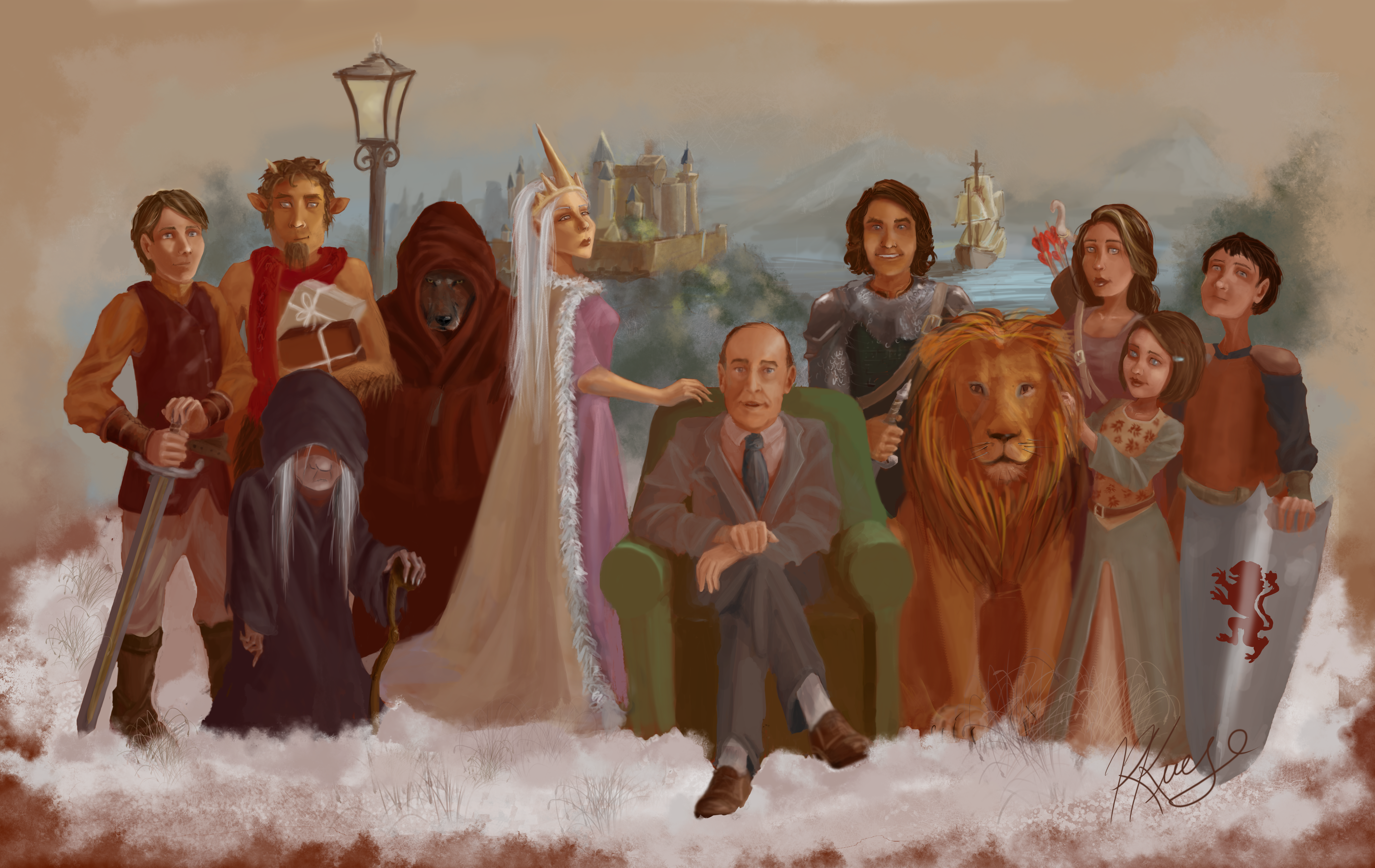 C S lewis Characters