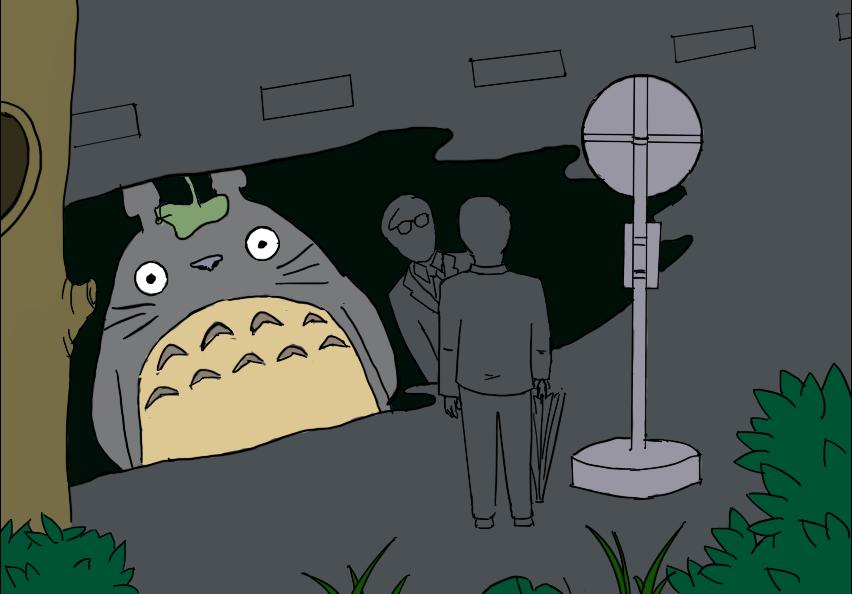 Tale tellers:Hayao Miyazaki WIP