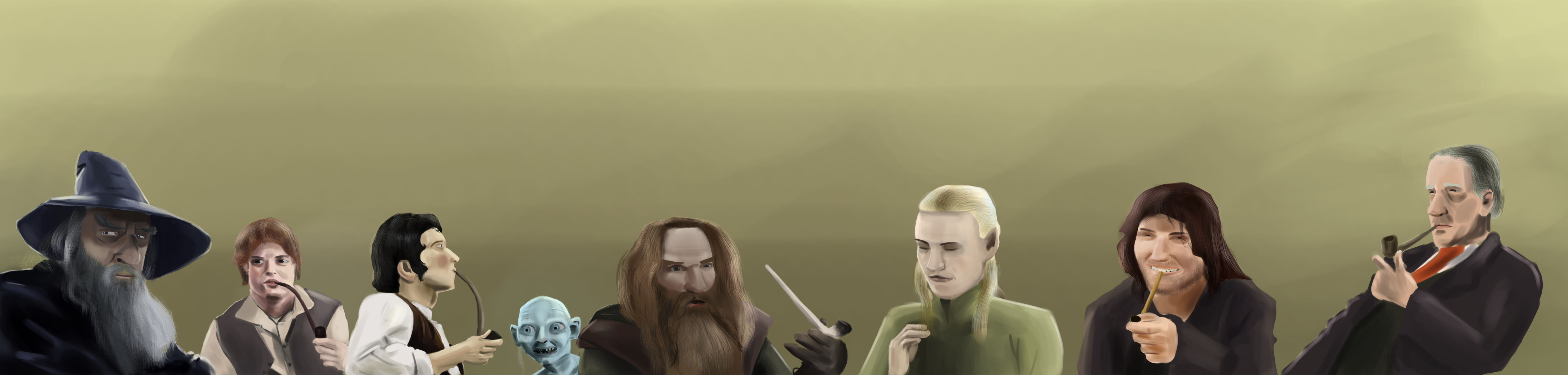 LOTR party with J.R.R. Tolkien