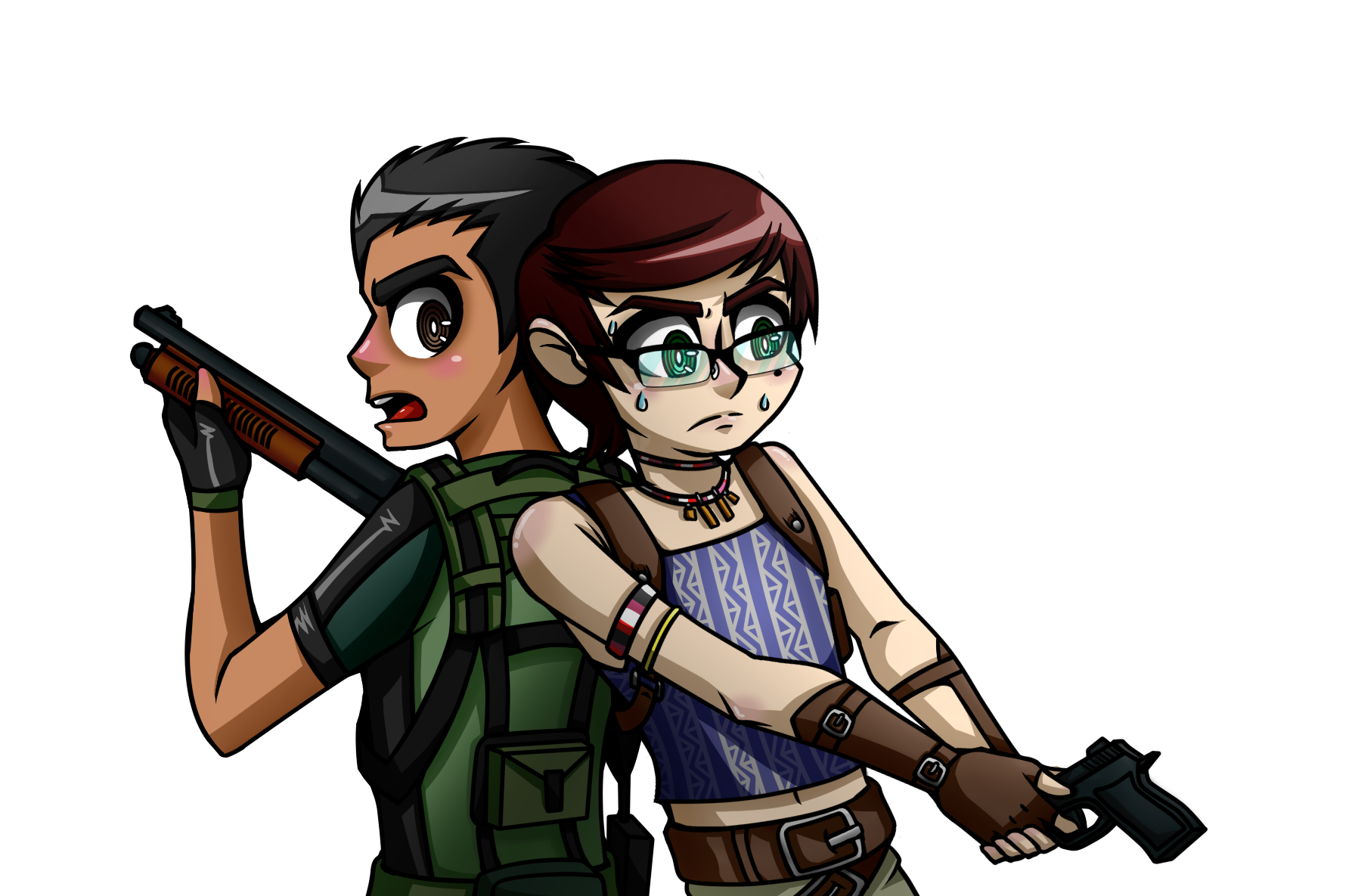 Commission - Leinim - Resident Evil 5 thing