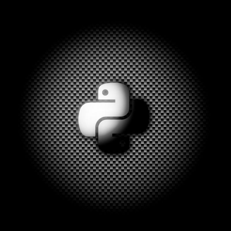 Python Logo Wallpaper By Ixploit On Newgrounds