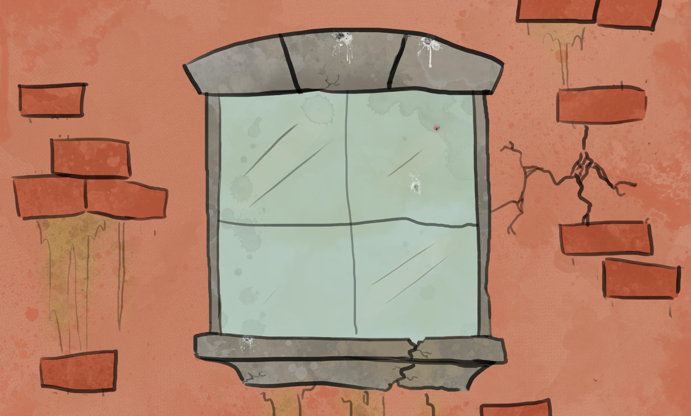 BACKGROUND ART Apartment Window