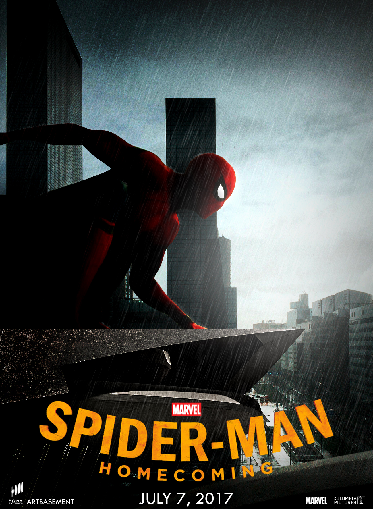 A new series of posters for Spider-Man Homecoming : Teaser Trailer