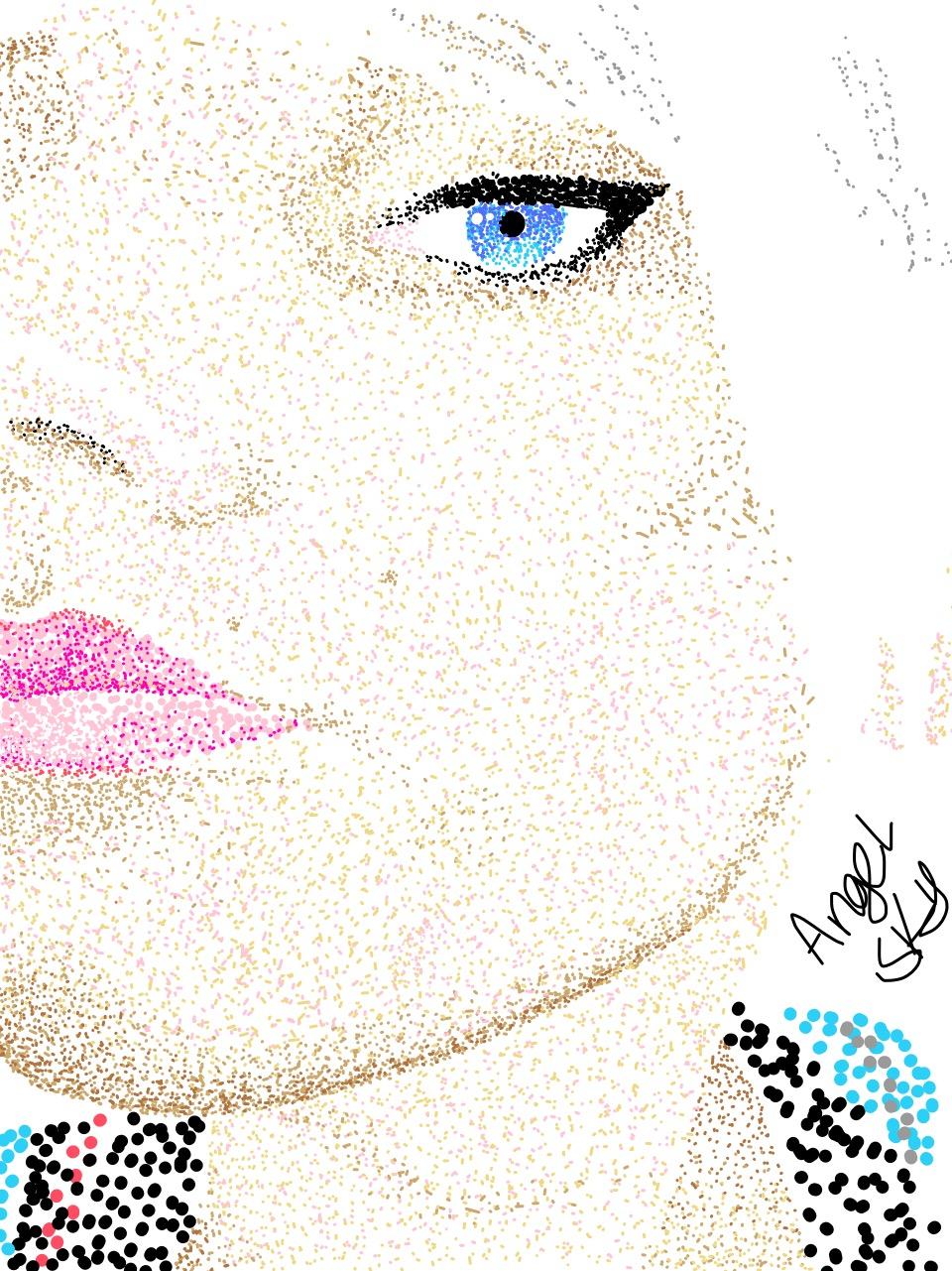 Spots art... SPOTS EVERYWHEEEERE!!!