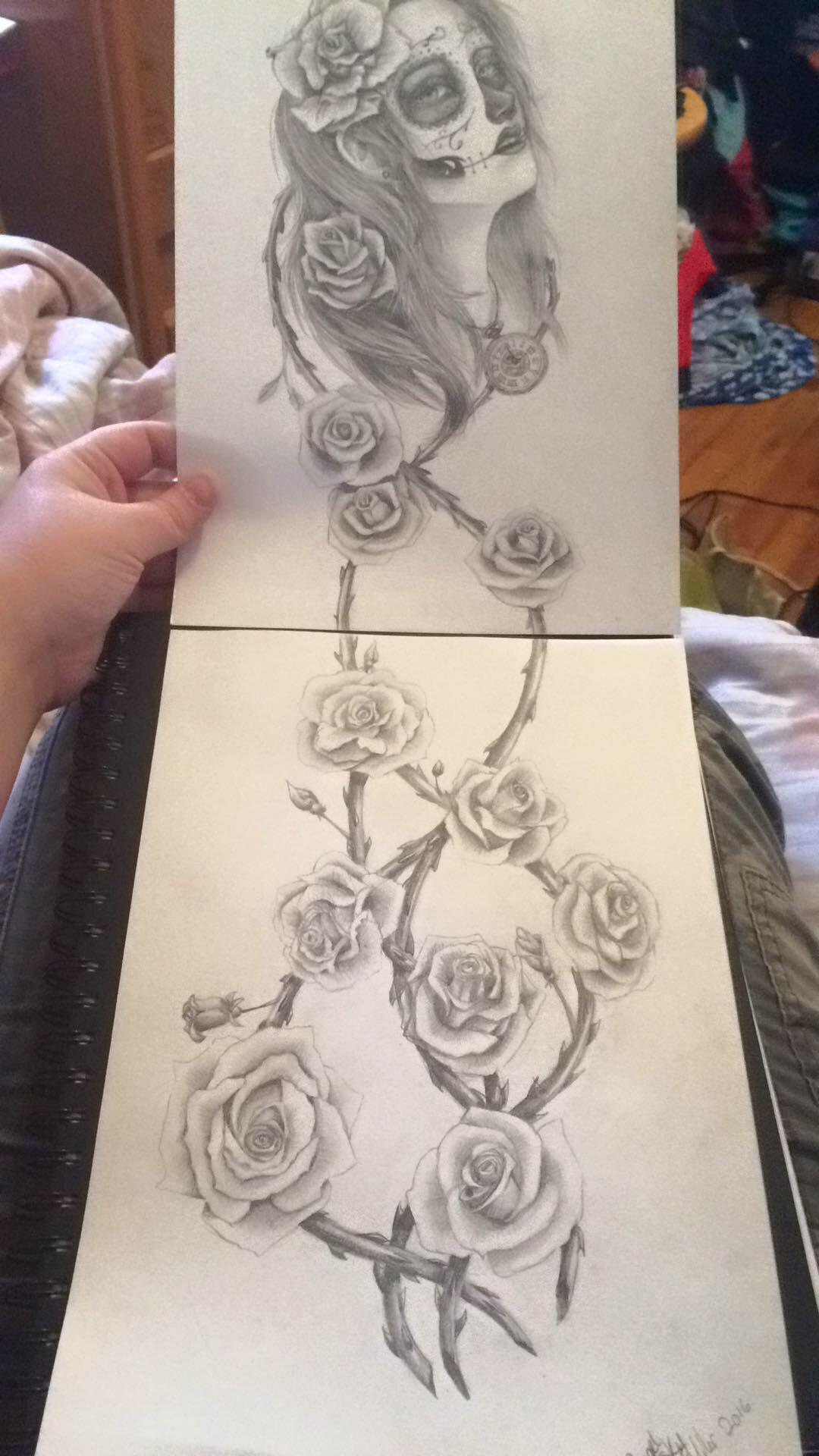 Tattoo realistic design