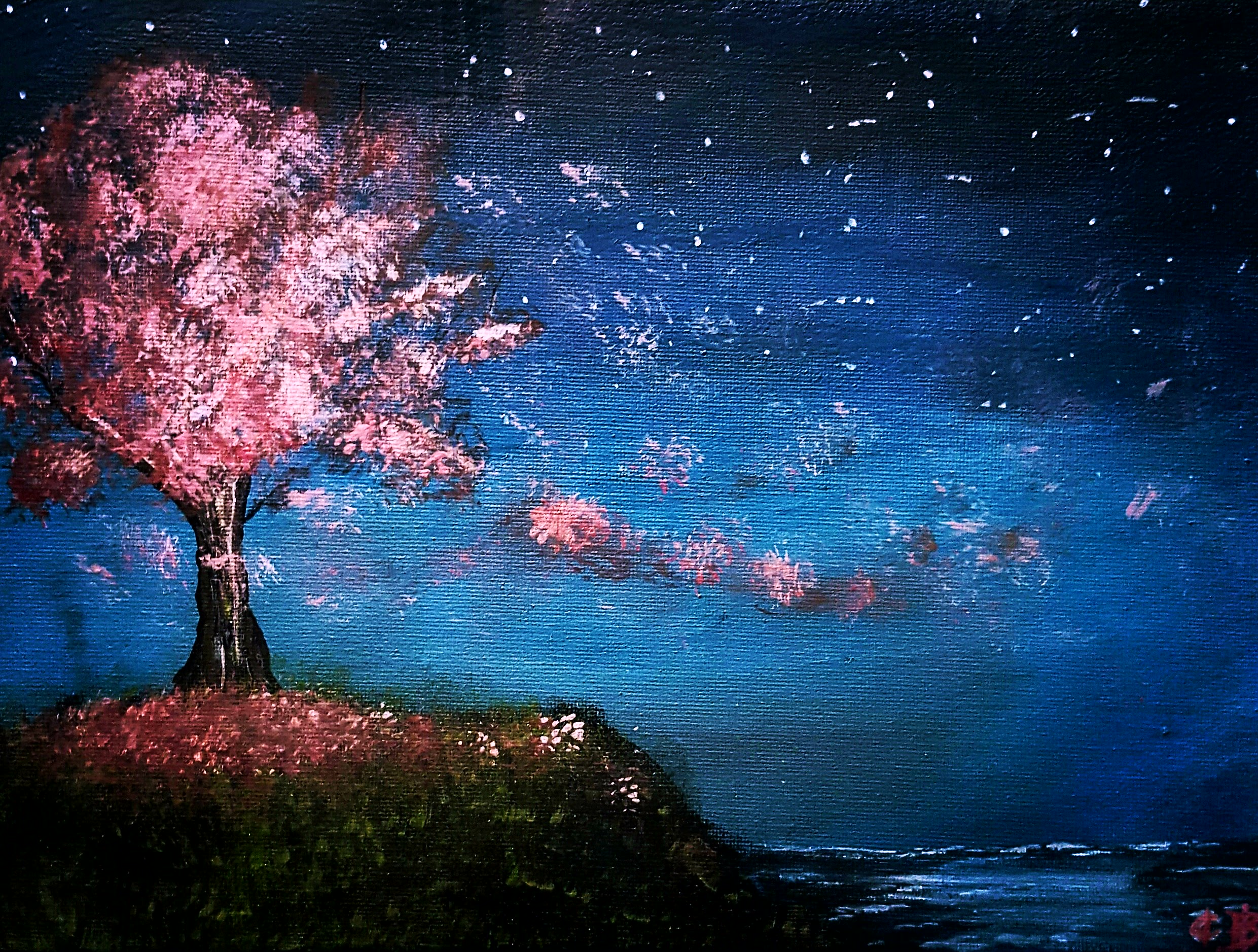 Blossoms in the Wind