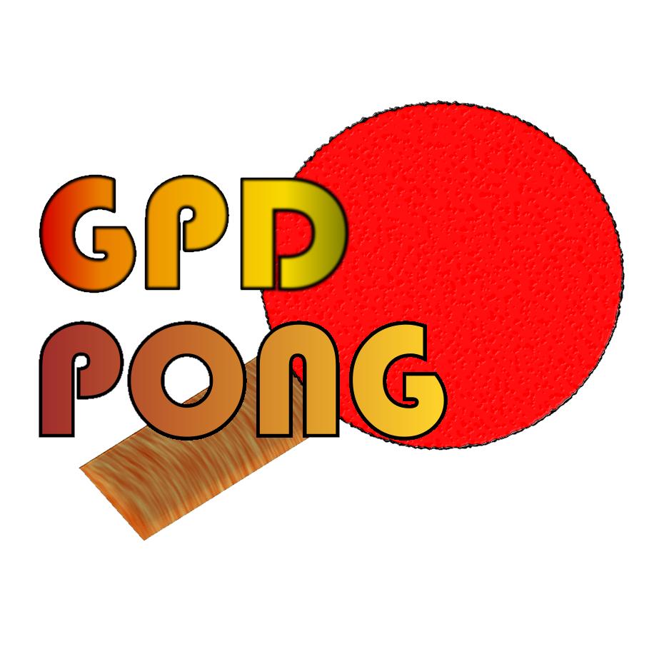 GPD Pong (Title Logo)