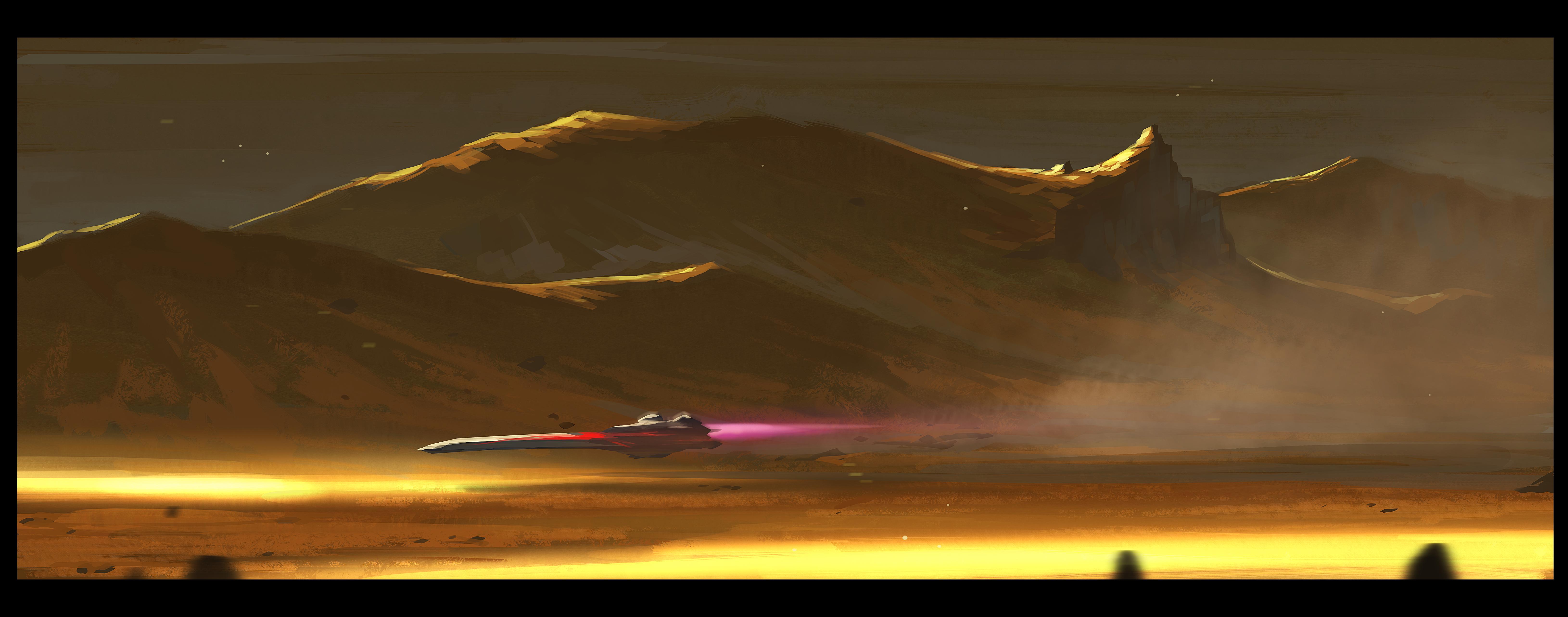 Mars racer