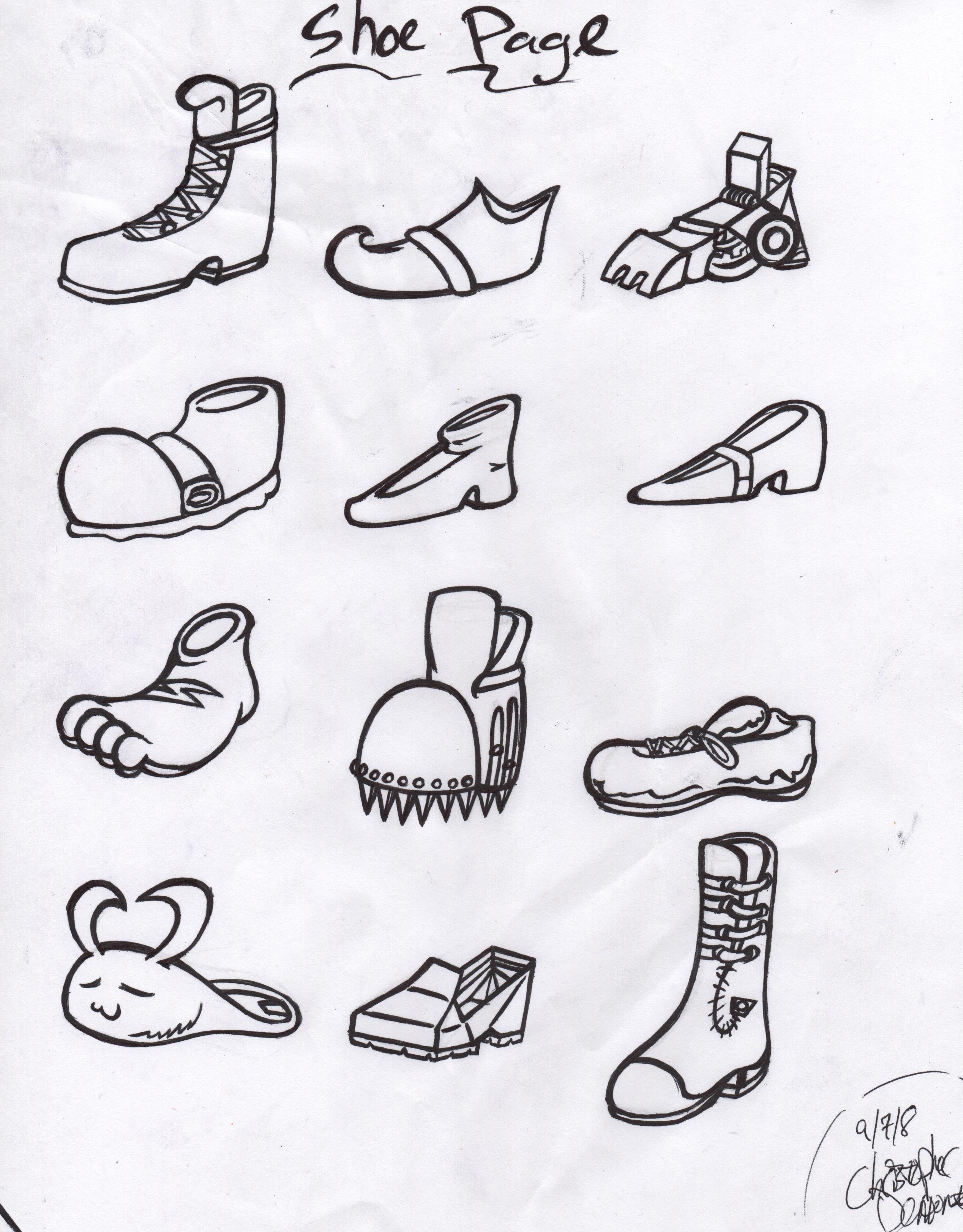 Shoe Page
